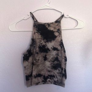 Tie dye crop top from pacsun
